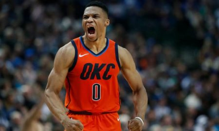 Russell Westbrook dos Oklahoma City Thunder