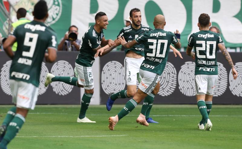 Jogadores do Palmeiras