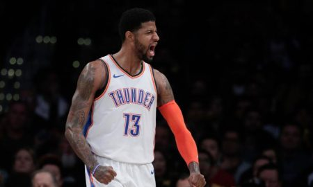 Paul George dos Oklahoma City Thunder