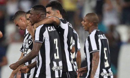Jogadores do Botafogo