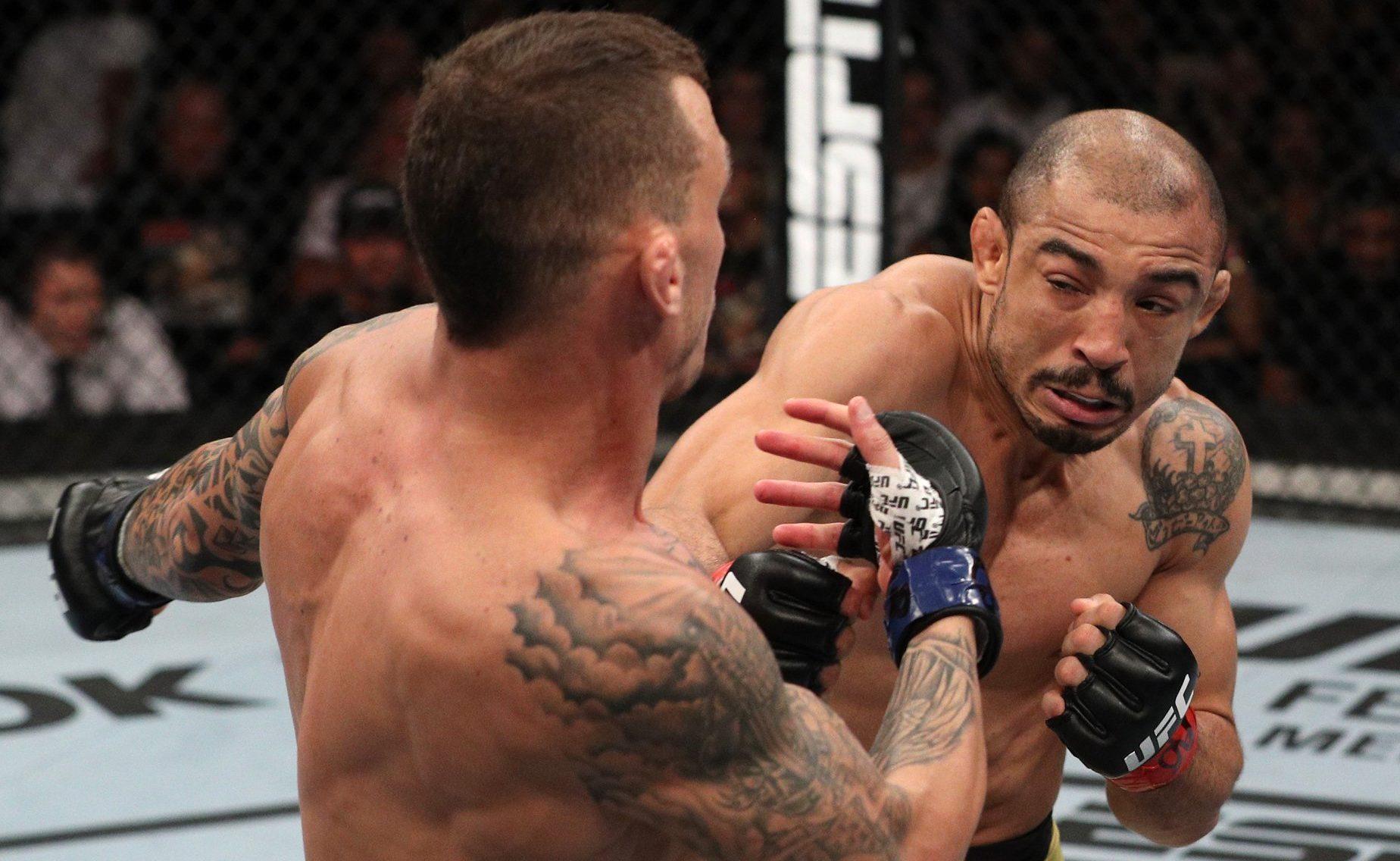 José Aldo nocauteia Renato Moicano no segundo round pelo UFC Fortaleza