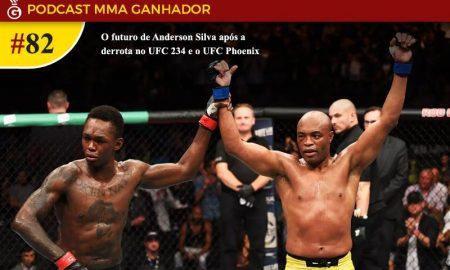 Podcast MMA Ganhador 82 - Qual o futuro de Anderson Silva?