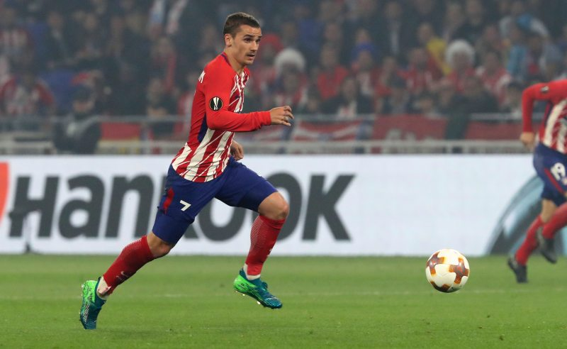 Antoine Griezmann do Atlético de Madrid