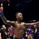 Israel Adesanya encara Anderson Silva pelo UFC 234, neste sábado, em Melbourne, Austrália