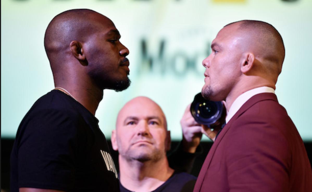 Jon Jones enfrenta Anthony Smith na luta principal do UFC 235