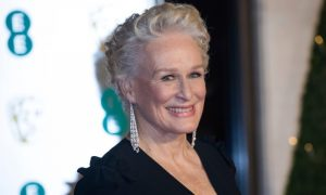 Glenn Close no BAFTA