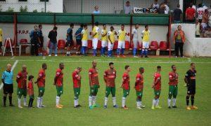 Jogadores do Portuguesa Santista