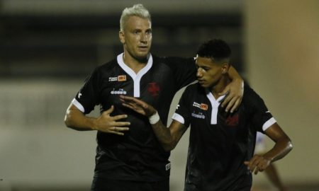 Maxi López e Marrony do Vasco