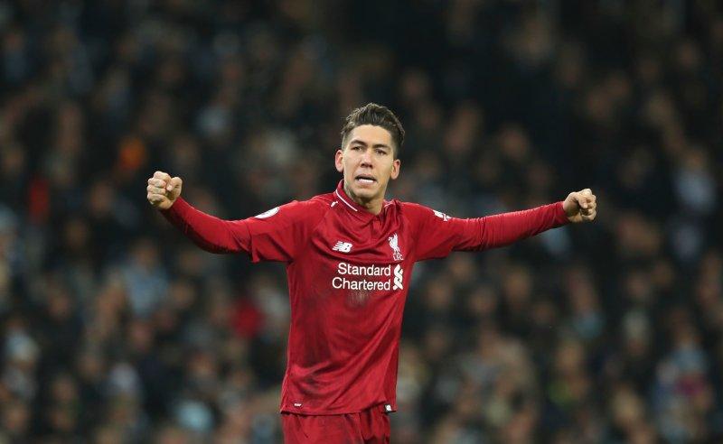 Roberto Firmino do Liverpool