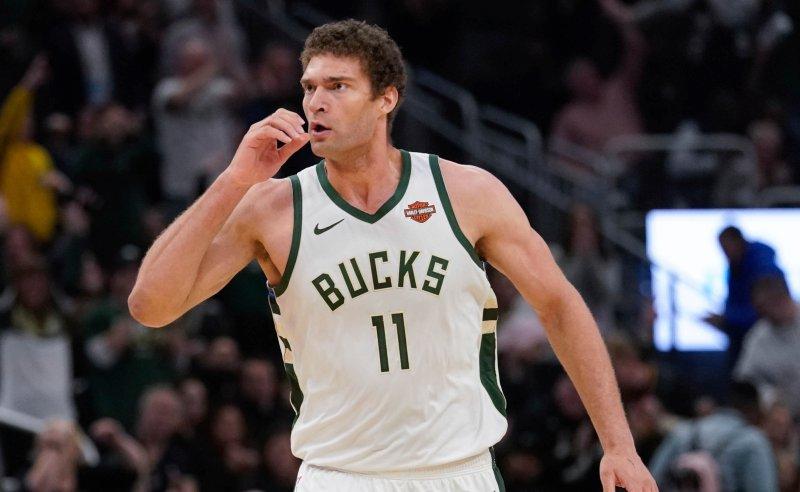 Brook Lopez dos Milwaukee Bucks