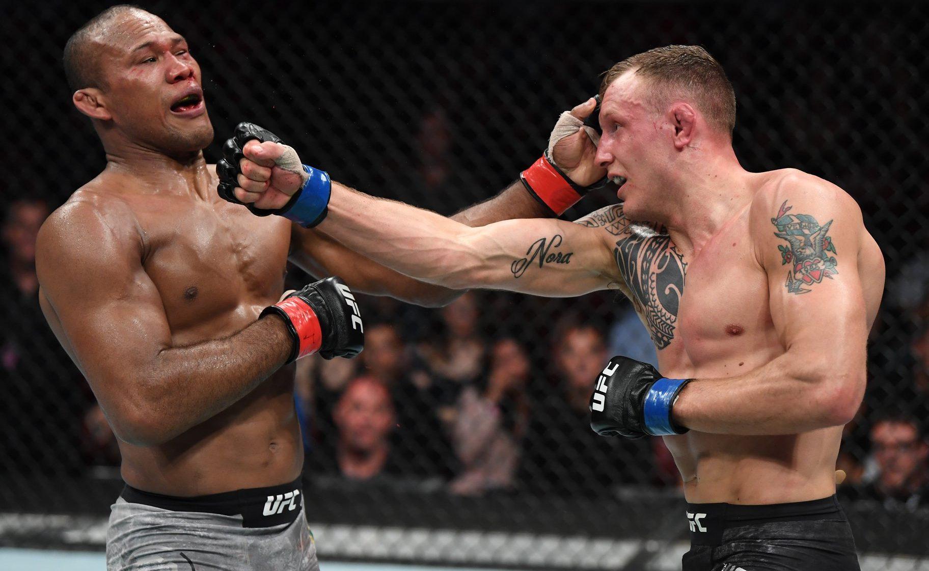 Ronaldo Jacaré é derrotado por Jack Hermansson no UFC Fort Lauderdale