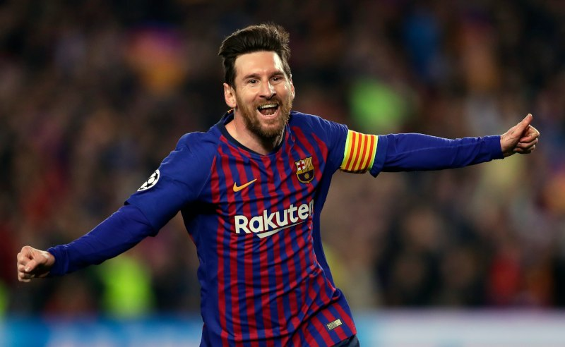 Messi do Barcelona