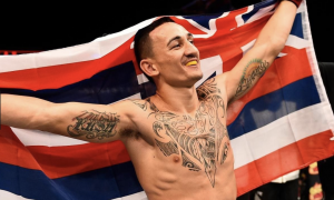 Max Holloway é o atual campeão dos penas do UFC