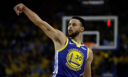 Stephen Curry dos Golden State Warriors