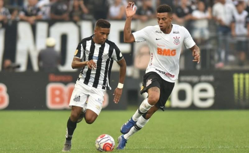 Santos x Corinthians na semifinal do Paulistão