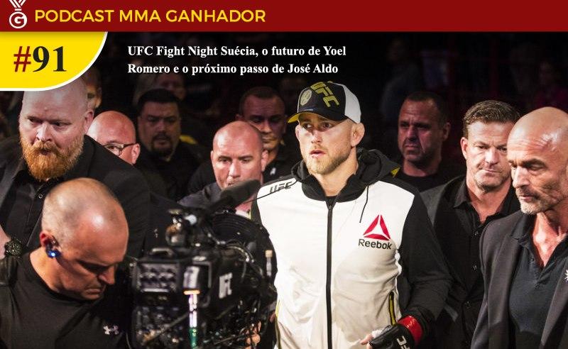 Podcast MMA Ganhador – UFC Suécia