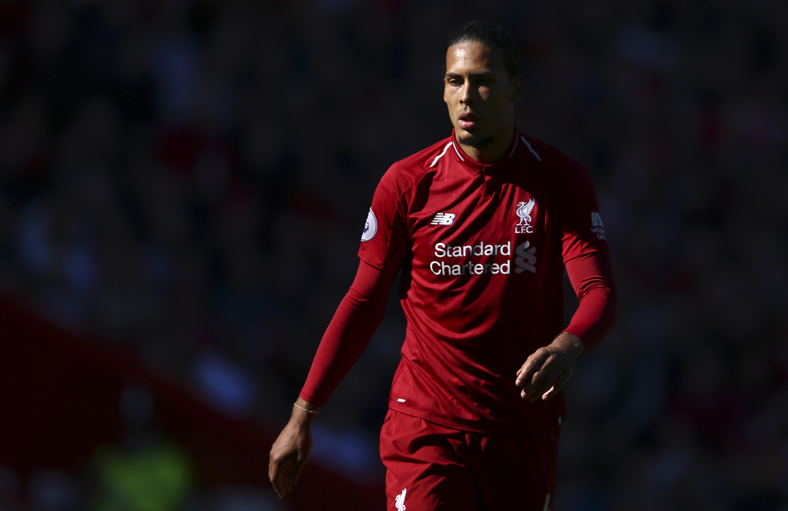 Virgil van Dijk do Liverpool