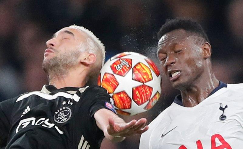 Ajax x Tottenham em Hotspur