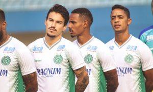 Jogadores do Guarani