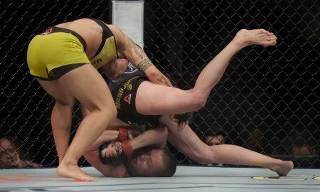 Jéssica Andrade usou bate-estaca para nocautear Rose Namajunas no UFC 237