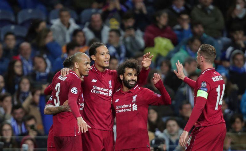 Jogadores do Liverpool
