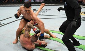 Chan Sung Jung nocauteou Renato Moicano no UFC Greenville