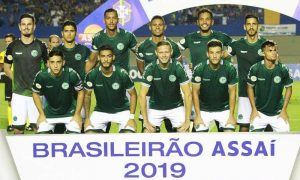 Jogadores do Goiás