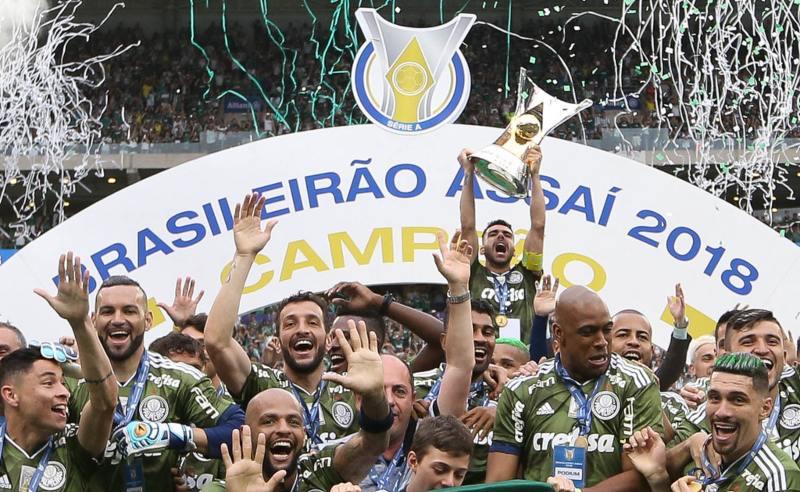 Palmeiras vence o Brasileirão 2018