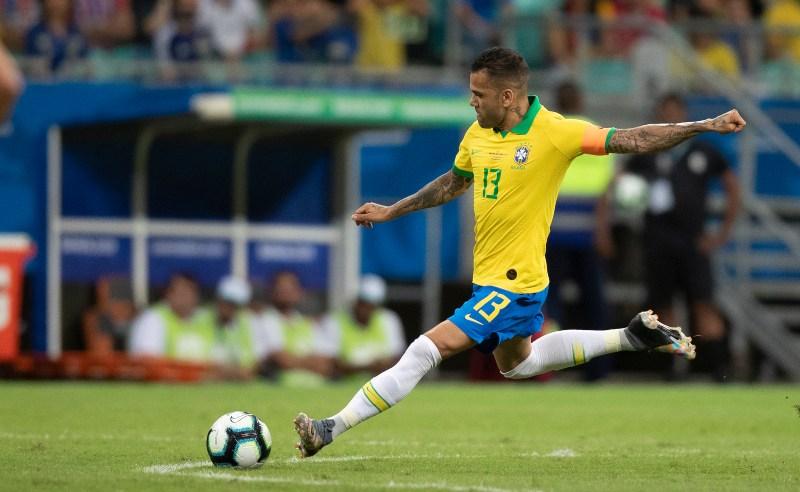 Daniel Alves da Seleção Brasileira