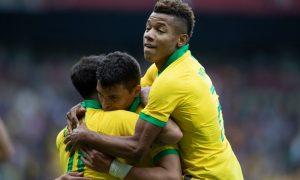 Jogadores da Seleção Brasileira