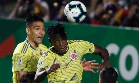 Duvan Zapata da Seleção Colombiana