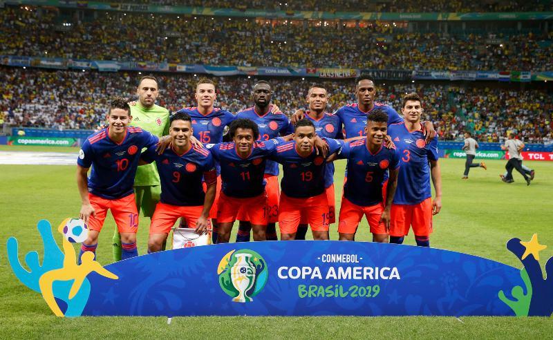 Seleção Colombiana na Copa América 2019