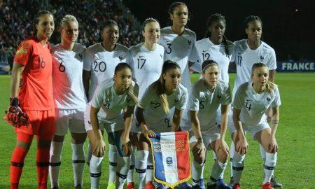 Jogadoras da Seleção Francesa Feminina