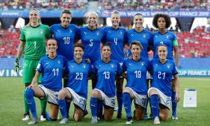 Jogadoras da Seleção Italiana
