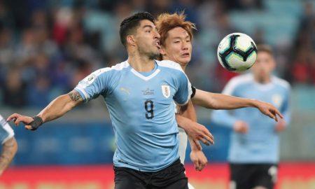 Luis Suaréz da Seleção Uruguaia