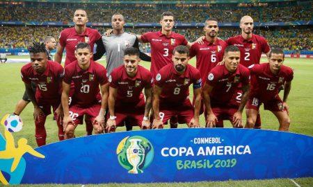 Jogadores da Seleção Venezuelana