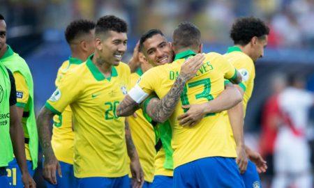 Jogadores da Seleção do Brasil