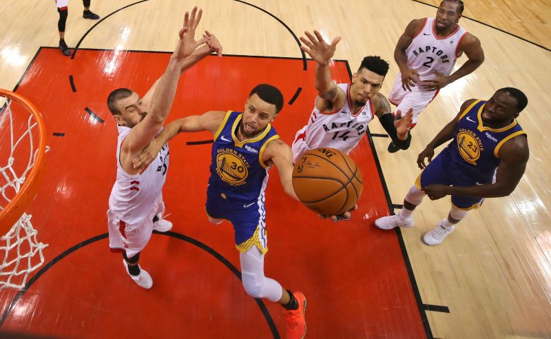 Warriors x Raptors na final da NBA 2019