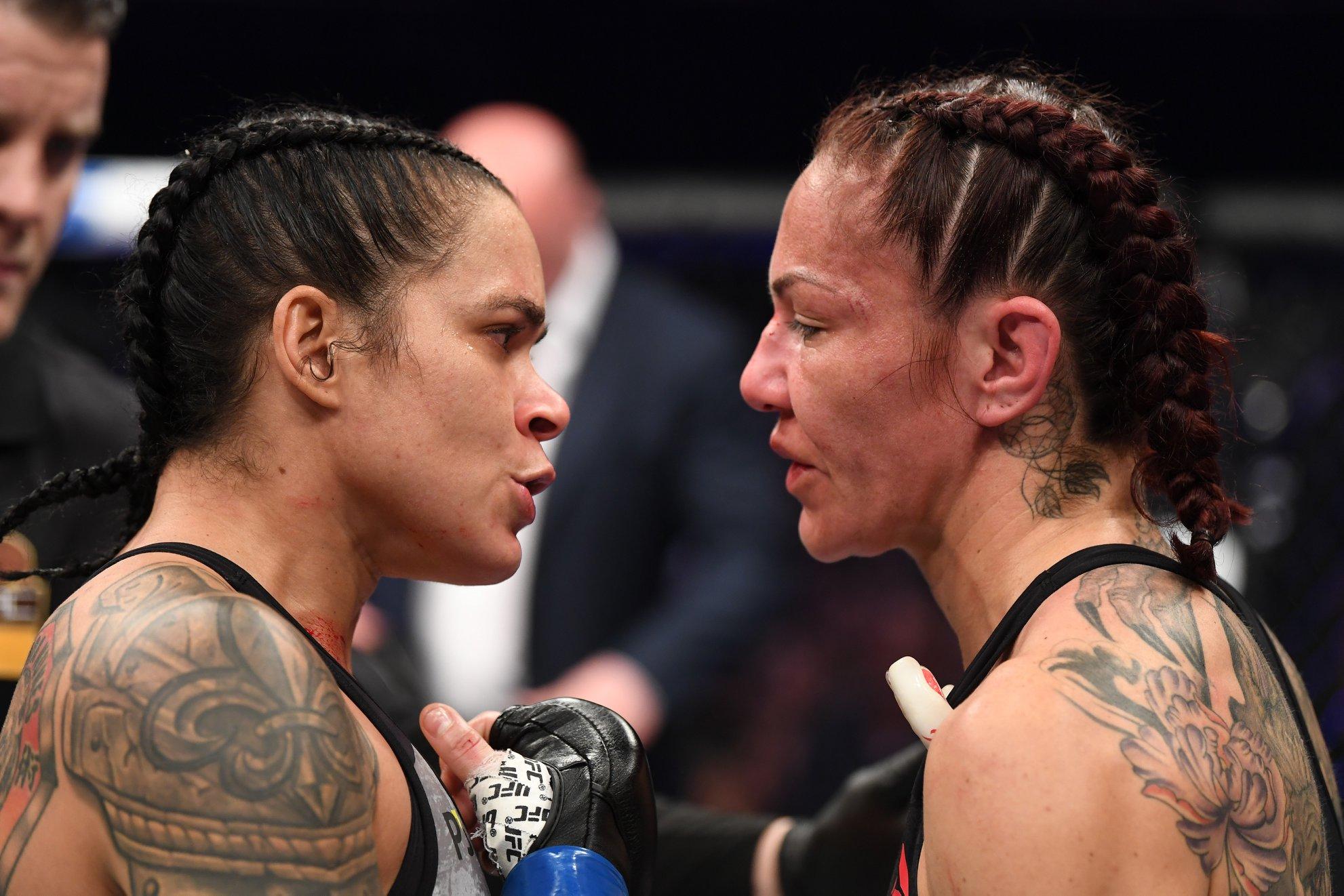 Cris Cyborg foi derrotada por Amanda Nunes no UFC 232