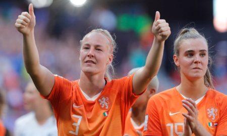 Stefanie Van Der Gragt e Jill Roord da Seleção Holandesa