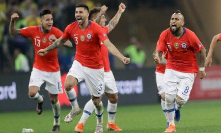 Jogadores da Seleção do Chile