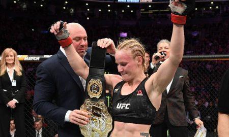 Valentina Shevchenko é campeã peso mosca do UFC