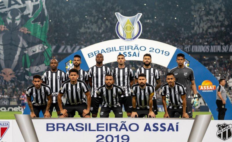 Jogadores do Ceará