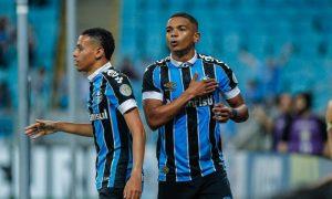 Jogadores do Grêmio