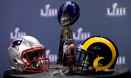 Troféu do Superbowl LIII