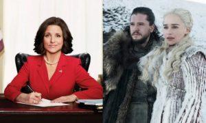 Veep e Game of Thrones