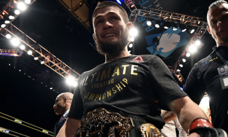 Khabib Nurmagomedov é campeão peso leve do UFC