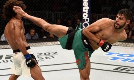 Yair Rodriguez é lutador peso-pena do UFC