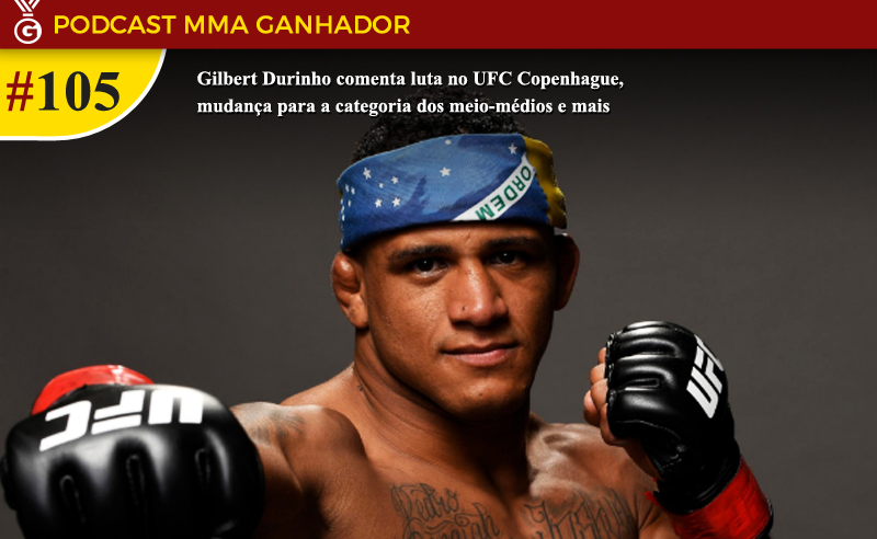 Gilbert Durinho no UFC Copenhague