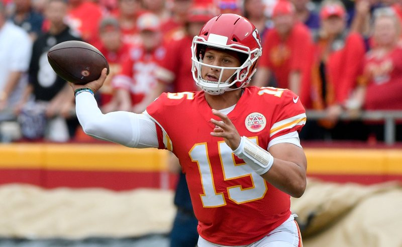 Patrick Mahomes do Kansas City Chiefs